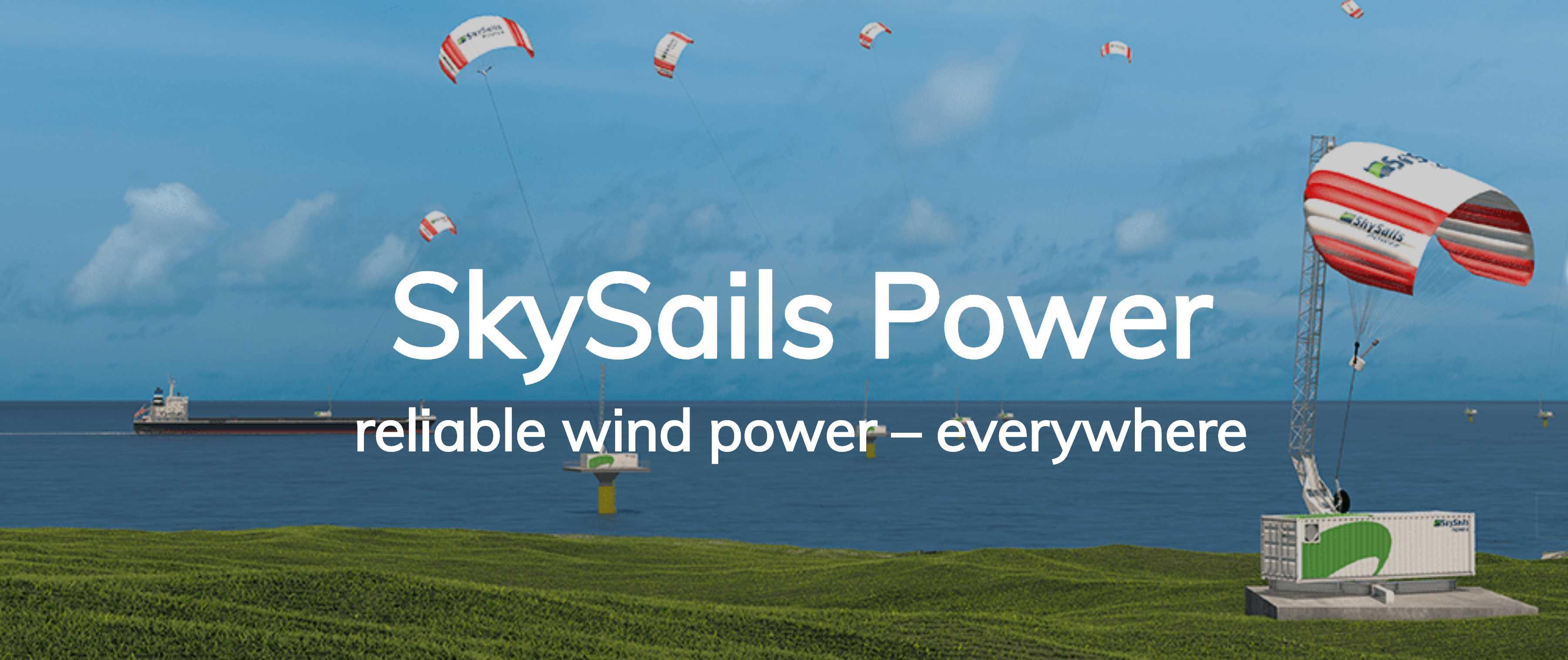 SkySails POWER Webseite Referenzprojekt